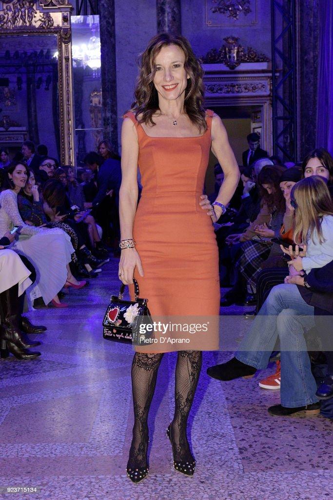Simonetta Ravizza - Front Row - Milan Fashion Week Fall/Winter 2018/19