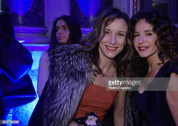 Silvia Grilli attends the Simonetta Ravizza show during Milan Fashion Week Fall/Winter 2018/19 on February 24 2018 in Milan Italy