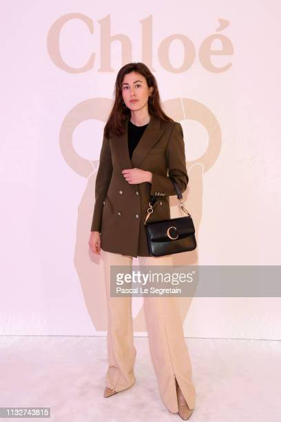 Silvia Haghjoo attends the Chloe show as part of the Paris Fashion Week Womenswear Fall/Winter 2019/2020 on February 28 2019 in Paris France
