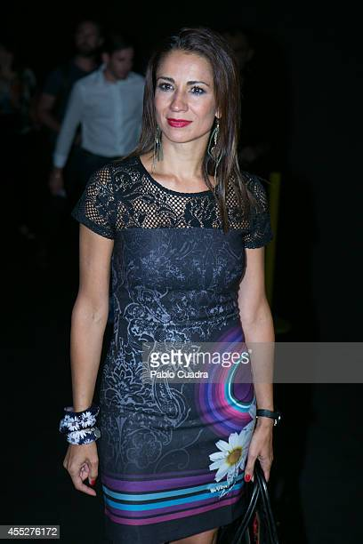 Silvia Jato attends a fashion show during the Mercedes Benz Fashion Week at Ifema on September 11 2014 in Madrid Spain