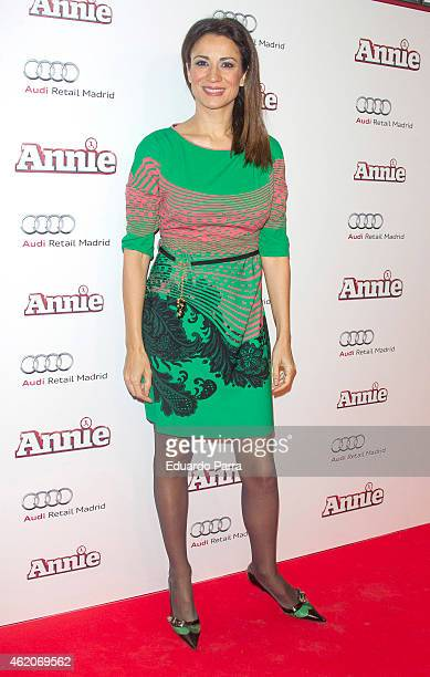 Silvia Jato attends 'Annie' photocall at Gran Via cinema on January 24 2015 in Madrid Spain