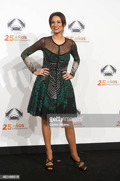 Silvia Jato attends Antena 3 TV Channel 25th anniversary party at the Palacio de Cibeles on January 29 2015 in Madrid Spain