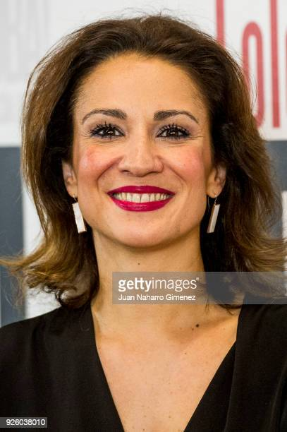 Silvia Jato attends 'ÁOh Cuba' premiere at Fernan Gomez Theater on March 1 2018 in Madrid Spain