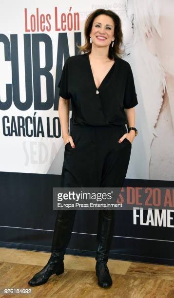 Silvia Jato attends 'Oh Cuba' premiere at Fernan Gomez Theater on March 1 2018 in Madrid Spain