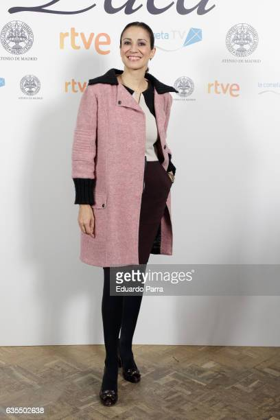 Silvia Jato attends the 'La princesa Paca' photocall at Ateneo on February 15 2017 in Madrid Spain