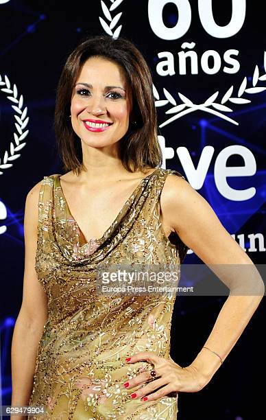 Silvia Jato attends to '60 Anos Juntos' TVE Gala Photocall on December 12 2016 in Madrid Spain