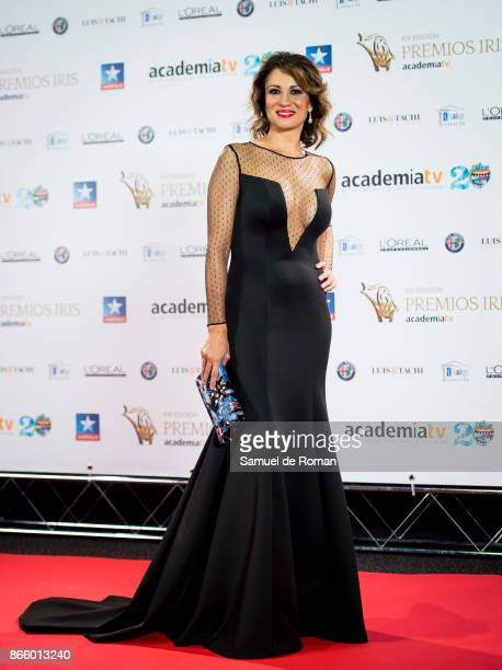 Silvia Jato during Iris Awards 2017 on October 24 2017 in Madrid Spain