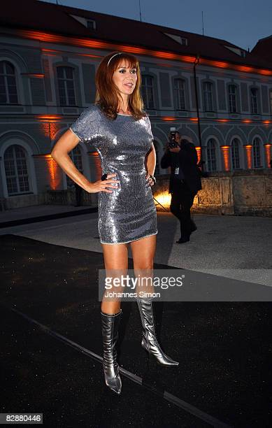 Silvia Laubenbacher attends the 'Fabulous Celebration' at Nymphenburg Castle on September 18 2008 in Munich Germany French champagne producer Moet...