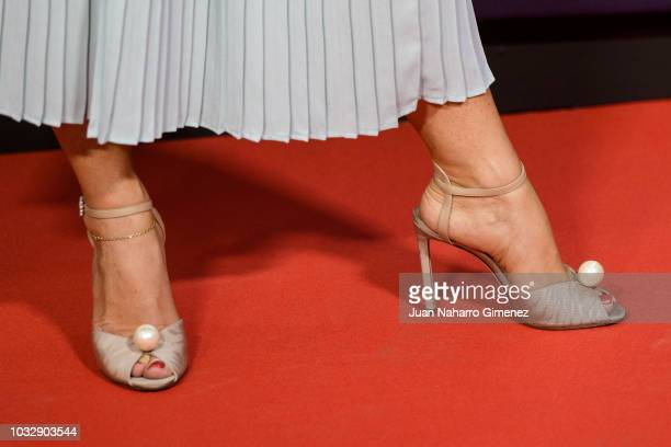 Silvia Marty attends 'El Continental' premiere at Callao Cinema on September 13 2018 in Madrid Spain