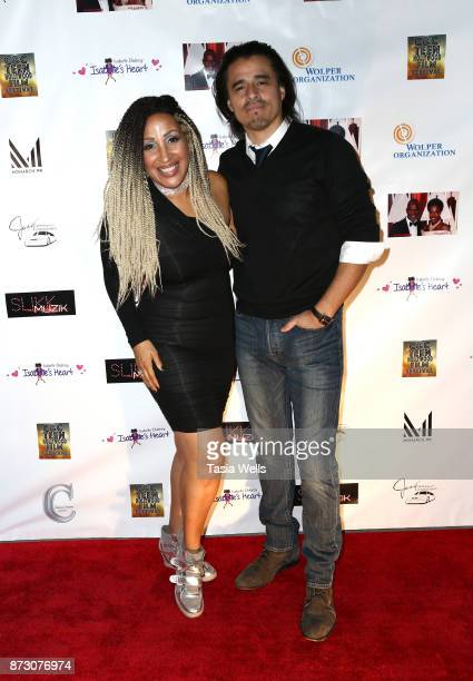 Silvia MathisManning and Antonio Jaramillo at the 4th Annual CC Teen Hollywood Film Festival at Raleigh Studios on November 11 2017 in Los Angeles...