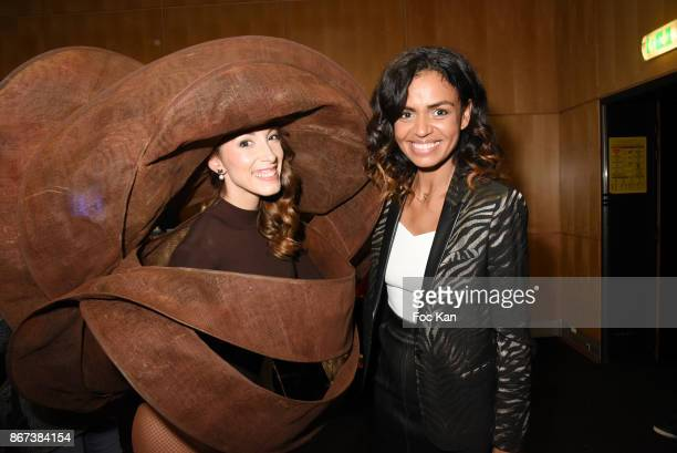Silvia Notargiacomo by Laurence Bossion Patrice Chapon and Laurence Roustandjee attend the 'Salon Du Chocolat 2017 Chocolate Fair' Auction Show in...