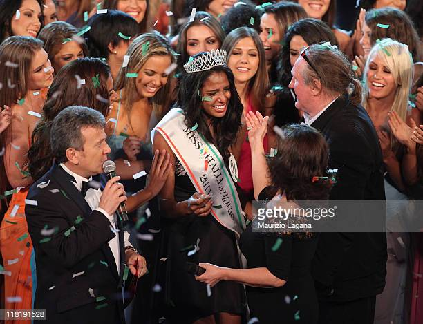 Silvia Novias wins Miss Italia Nel Mondo on July 4 2011 in Reggio Calabria Italy