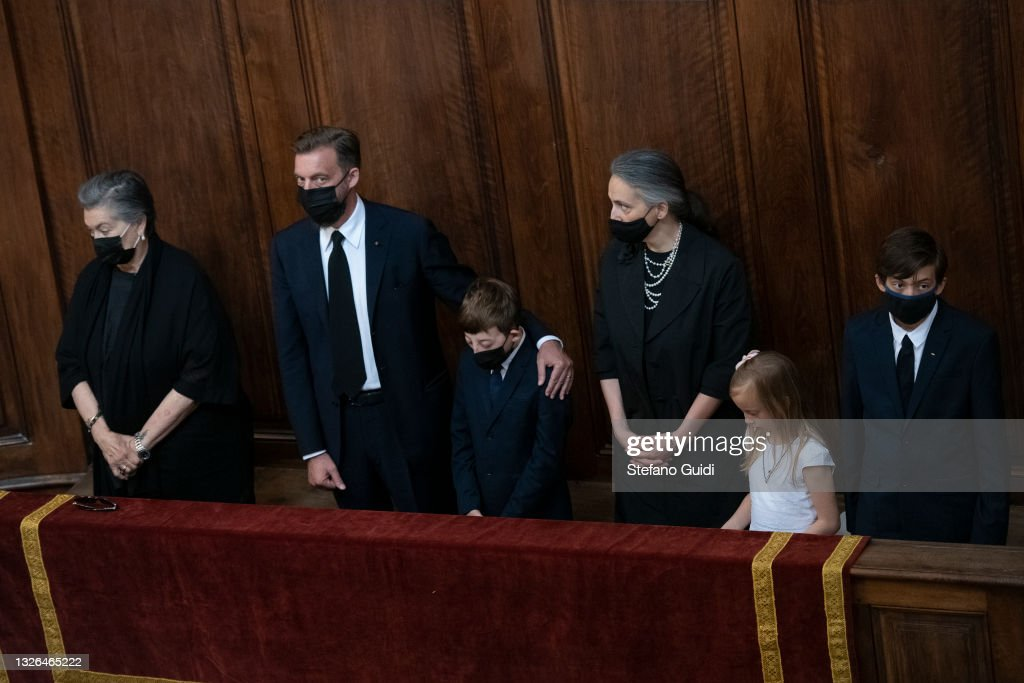 Solemn Mass In Honor Of H.R.H. Amedeo Of Savoy-Aosta : News Photo