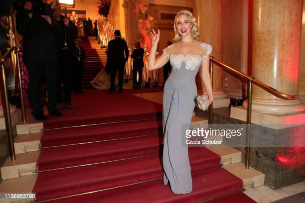 Silvia Schneider during the ROMY award at Hofburg Vienna on April 13 2019 in Vienna Austria