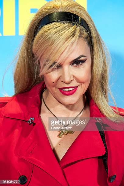 Silvia Superstar attends 'La Tribu' premiere at the Capitol cinema on March 12 2018 in Madrid Spain