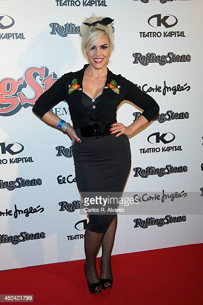 Silvia Superstar attends the Rolling Stone Magazine Awards 2013 at the Kapital Club on November 28 2013 in Madrid Spain