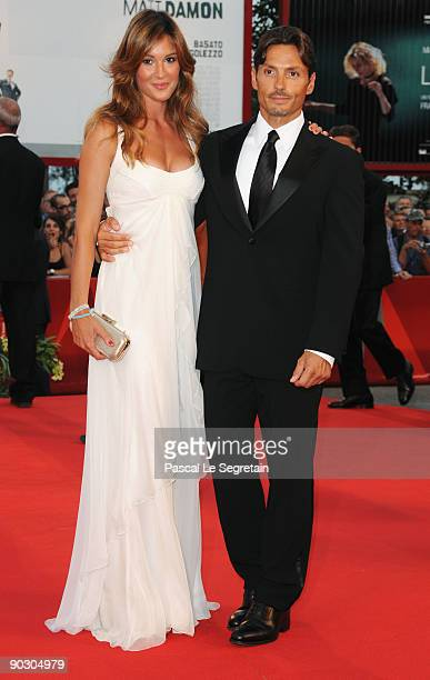 Silvia Toffanin and Piersilvio Berlusconi attend the Opening Ceremony and Baaria Red Carpet at the Sala Grande during the 66th Venice Film Festival...