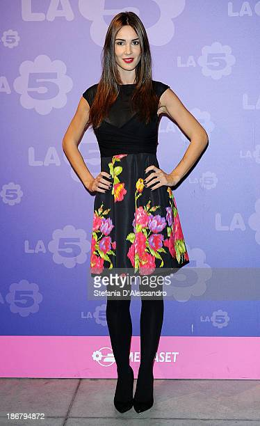Silvia Toffanin attends Fashion Style TV Show Photocall on November 4, 2013 in Milan, Italy.