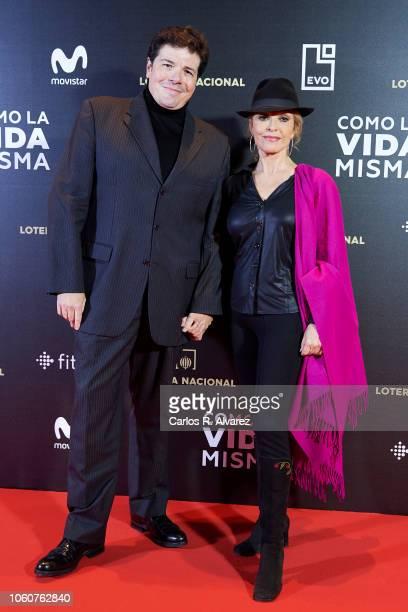 Silvia Tortosa attends 'Como la Vida Misma' premiere during the Madrid Premiere Week at the Callao cinema on November 12 2018 in Madrid Spain