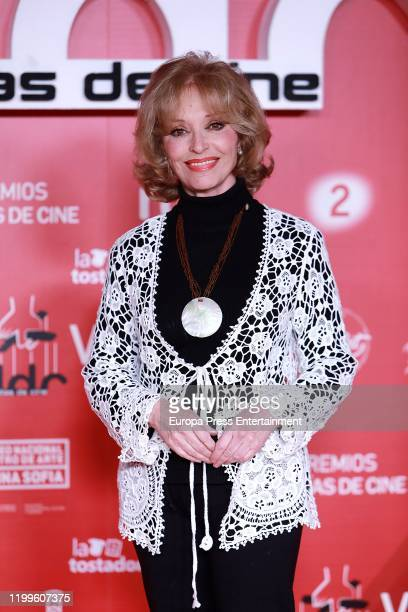 Silvia Tortosa attends 'Dias de Cine' awards at the Reina Sofia Art Museum on January 14 2020 in Madrid Spain