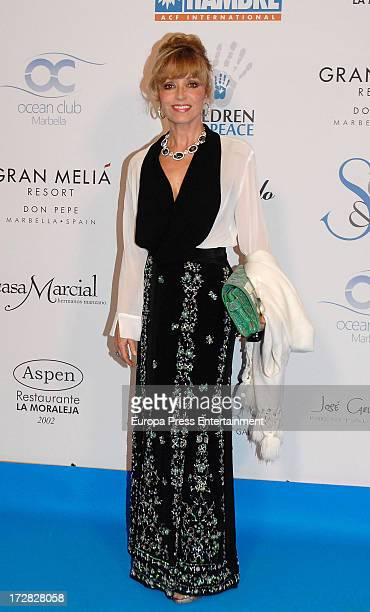 Silvia Tortosa attends Soul Stars Benefit Gala organized by The Children for Peace ONLUS with Action Against Hunger on July 4 2013 in Marbella Spain