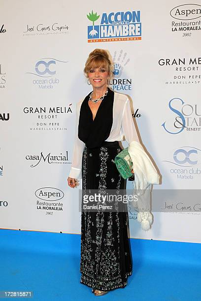 Silvia Tortosa attends Soul Stars Gala By The Children for Peace ONLUS with Action Against Hunger on July 4 2013 in Marbella Spain