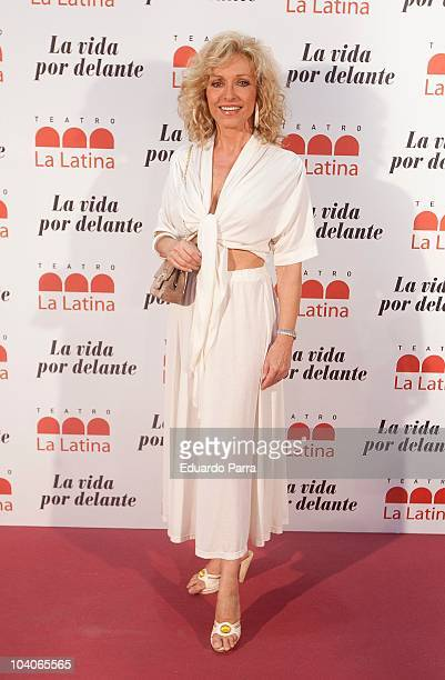 Silvia Tortosa attends theatre opening season photocall at La Latina Theatre on September 13 2010 in Madrid Spain