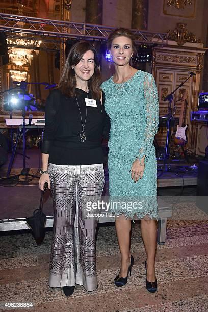 Silvia Valigi and Martina Colombari attend the Charity Dancing Party For Haiti hosted by Fondazione Francesca Rava NPH Italia Onlus to support the...