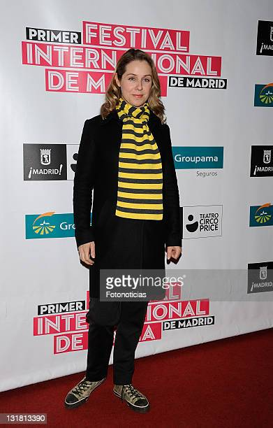 Silvia Wheeler attends the 'Festival de Magia de Madrid' opening day at the Teatro Circo Price on February 15 2011 in Madrid Spain