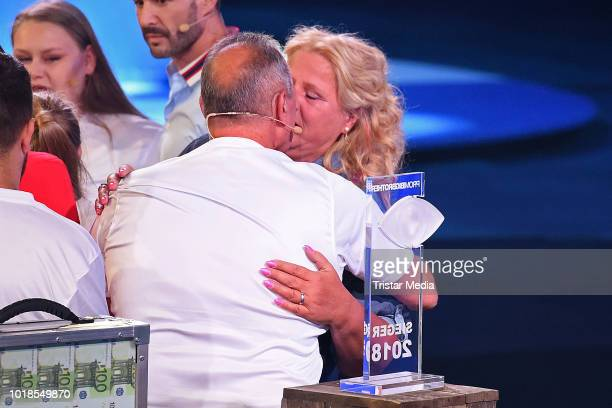 Cora Schumacher attends the first live show of 'Promi Big Brother 2018' at MMC Studios on August 17 2018 in Cologne Germany
