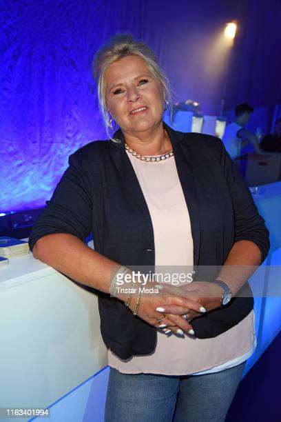 Silvia Wollny attends the Promi Big Brother final at MMC Studios on August 23 2019 in Cologne Germany