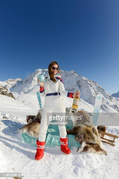 Silvia Zamora attends Casamigos in the Snow on December 04 2019 in Verbier Switzerland