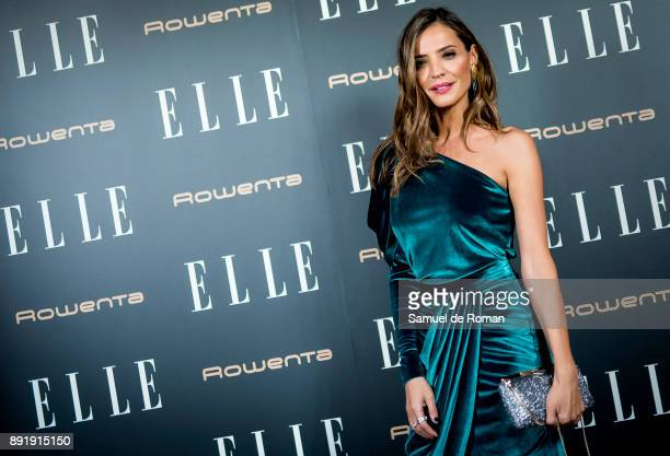 Silvia Zamora during Elle Christmas Party in Madrid on December 13 2017 in Madrid Spain