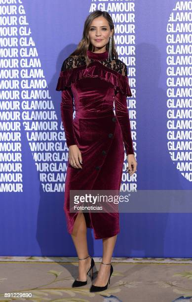 Silvia Zamora Lady Addict attends the Glamour Magazine Awards and 15th anniversary dinner at The Ritz Hotel on December 12 2017 in Madrid Spain