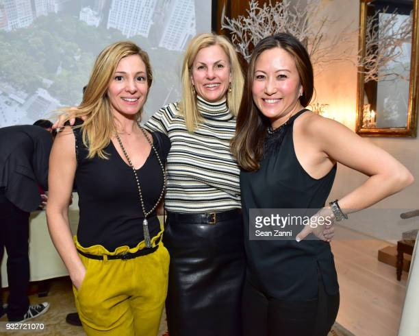 Silvina Della Motta Jennifer Tunney and Susanna Hong attend 'The Initiation' Book Launch at Bouley TK on March 15 2018 in New York City