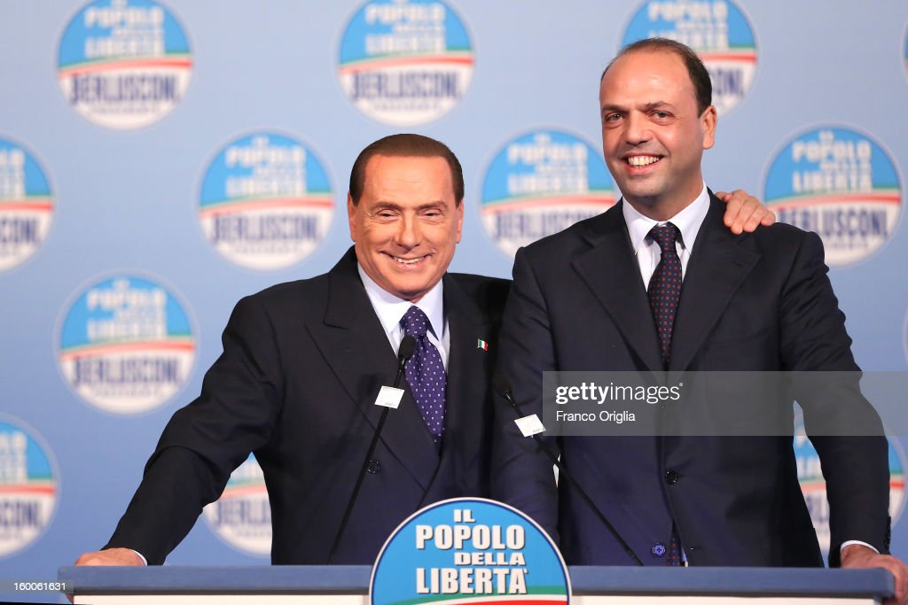 Silvio Berlusconi Unveils List Of Candidates For PDL
