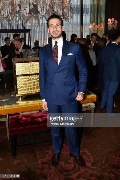 Silvio Gutierrez attends Christopher R King Debuts New Luxury Brand CCCXXXIII at Baccarat Hotel on June 5 2018 in New York City
