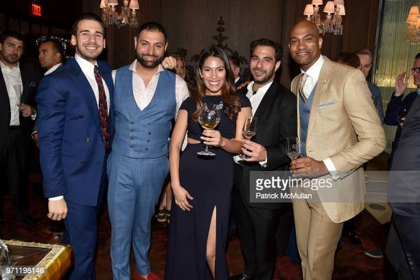 Silvio Gutierrez Sandy Lal Elizabeth Calvo Pierre Rogers and Damien Brown attend Christopher R King Debuts New Luxury Brand CCCXXXIII at Baccarat...