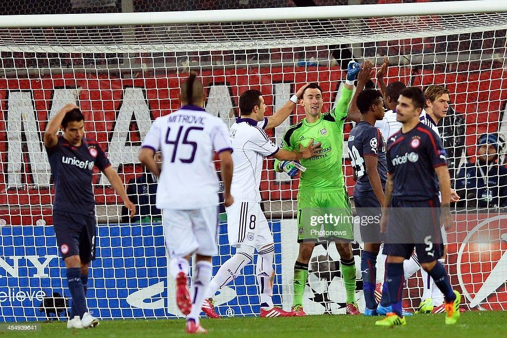 Olympiacos FC v RSC Anderlecht - Champions League
