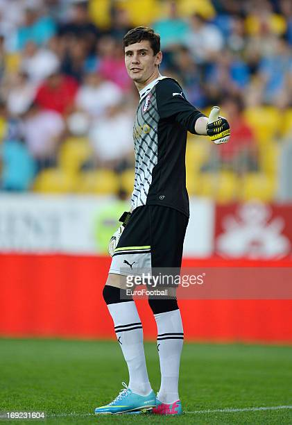 Silviu Lung of FC Astra Ploiesti in action during the Romanian First Division match between FC Petrolul Ploiesti and FC Astra Ploiesti held on May 18...
