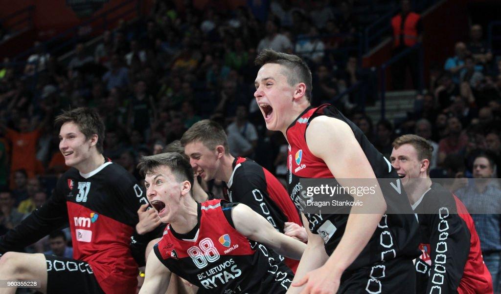 Championship game U18 Lietuvos Rytas Vilnius v U18 Stellazzurra Rome - Adidas Next Generation Tournament