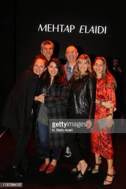 Simay Bulbul Gamze Saracoglu Tamer Yilmaz Isin Gormus and Melis Agazat attend the MercedesBenz Fashion Week Istanbul March 2019 at Zorlu Center on...