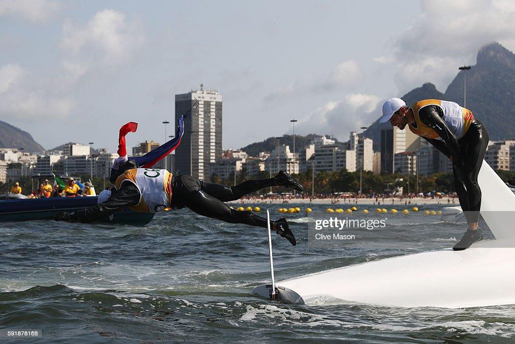 Sailing - Olympics: Day 13 : News Photo