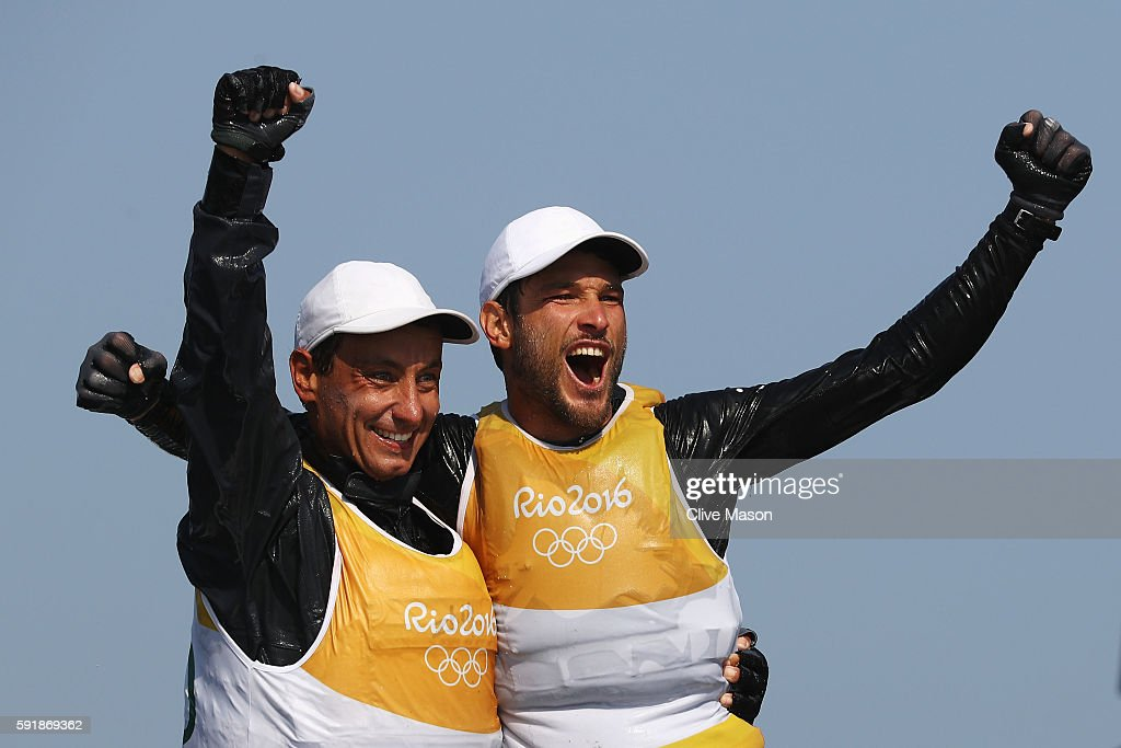 Sailing - Olympics: Day 13 : News Photo