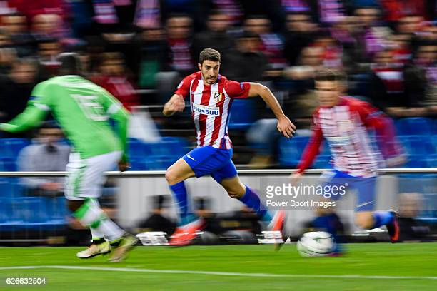 Sime Vrsaljko of Atletico de Madrid in action during their 201617 UEFA Champions League match between Atletico de Madrid and PSV Eindhoven at the...