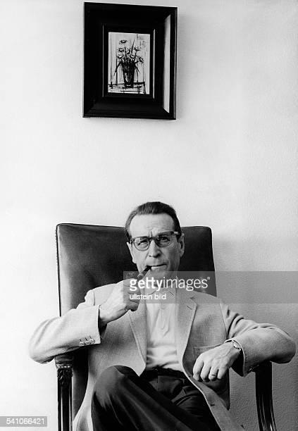 Simenon Georges *Schriftsteller Belgien undatiert