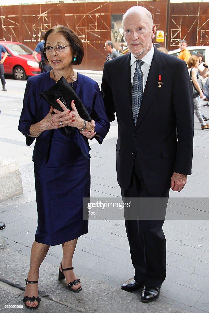 Spanish Royals Attend Simeon Of Bulgaria Autobiography Presentation : Photo d'actualité