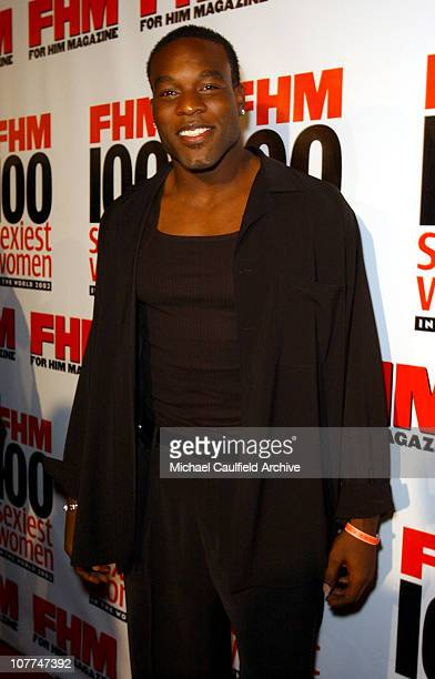 Simeon Rice during FHM Magazine Hosts The 100 Sexiest Women in the World Party at Raleigh Studios in Hollywood California United States