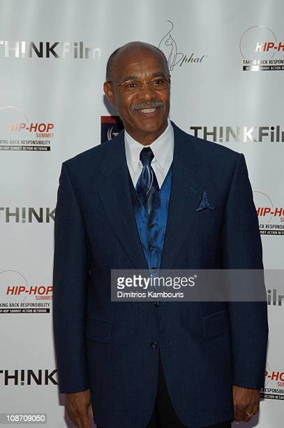 Simeon Wright during The Untold Story of Emmett Louis Till New York City Premiere at Dag Hammarskjolm Auditorium in New York City New York United...