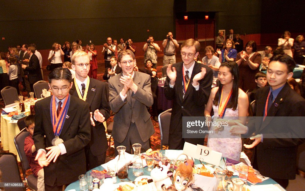 f489766d3 Simi Valley High School Academic Decathlon team reacts to receiving the  silver medal in the national